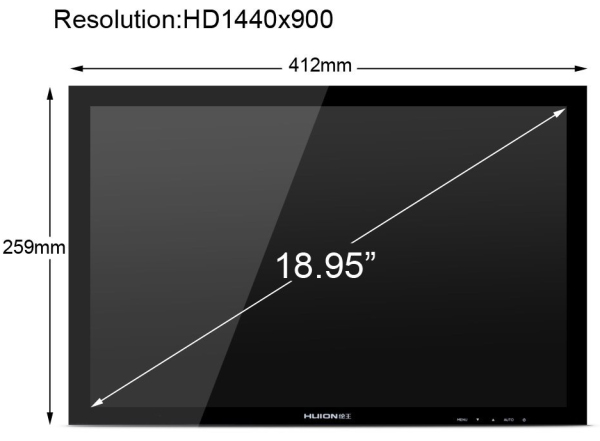 HUION GT-190 Screen