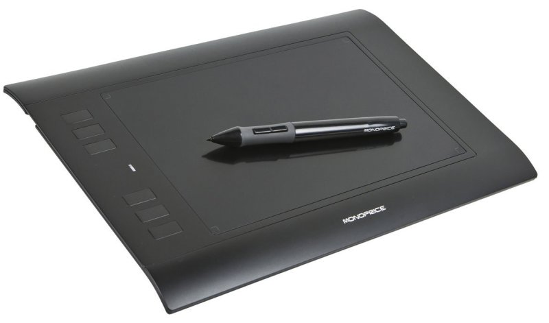 Monoprice 8 x 5 Inches Graphic Drawing Tablet (110593