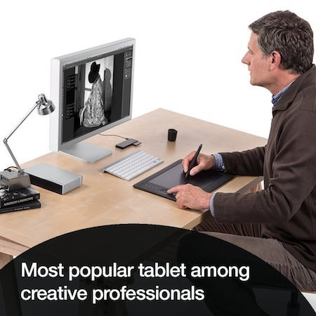 Popular graphics tablet among creative professionals
