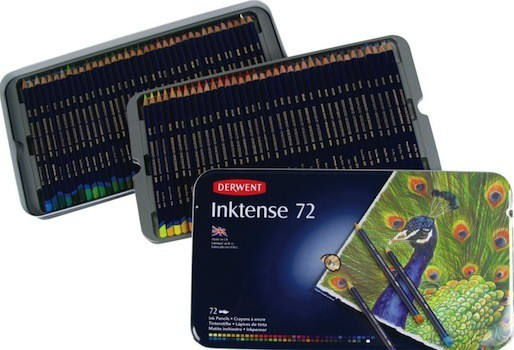Derwent Inktense Pencils Featured Image