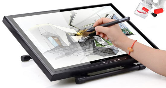 Ugee 19-Inches Review (1910B), A Graphics Drawing Pen Tablet