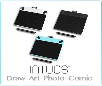The New Wacom intuos Draw, Art, Photo and Comic Review, Comparison