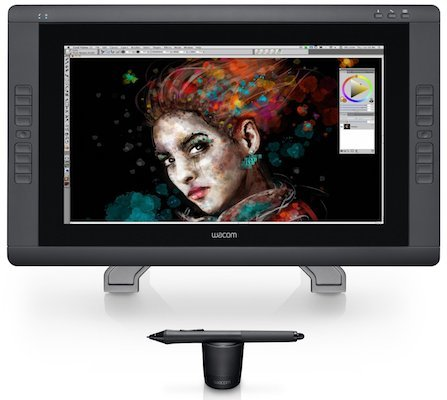 Wacom Cintiq 22HD Touch Interactive Pen Display (DTH2200)