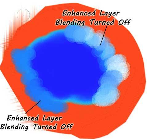 Dynamic-Layer-Blending