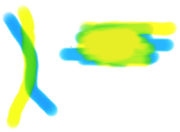 Colors Blending