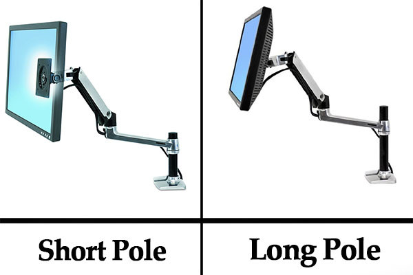 LX-Desk-Mount-LCD-Arm-Long-VS-Short-Poles