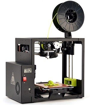 LulzBot Mini Desktop 3D Printer Side View