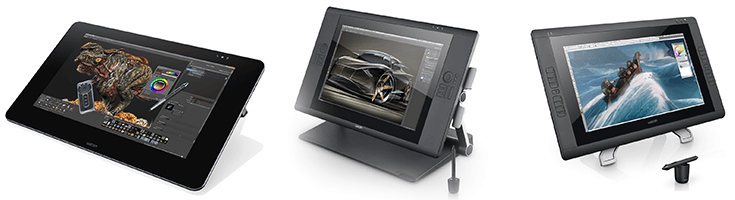 Wacom Cintiq Comparison:- Cintiq 22HD VS Cintiq 24HD VS Cintiq 27QHD