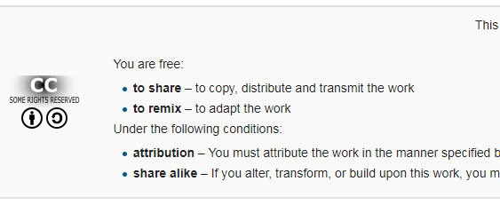 Wikipedia-Creative-Common-License