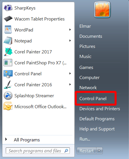 How to get rid of the right-click circle that appears while