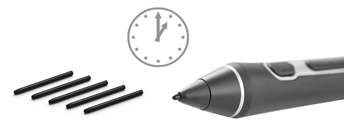 How much Wacom nibs lasts? And how to make your graphics
