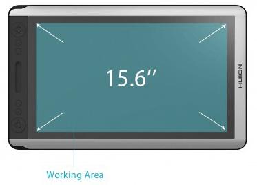 Huion-KAMVAS-GT-156HDV2-Working-Area