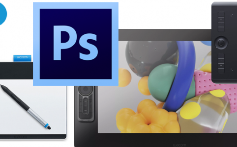 -Getting-Started-With-Wacom-Tablet-And-Photoshop-Digital-Art-Landing-Page-Banner-Featured