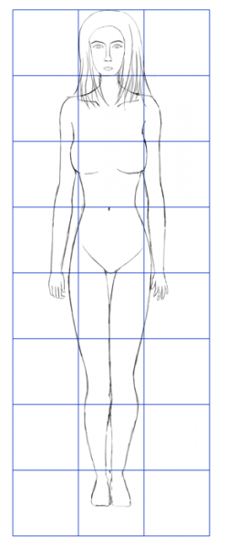 Human-Proportions-Grid-Proportion-Method