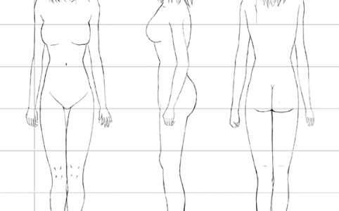 Female-Figure-Front-Back-Side