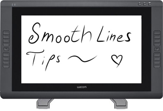 Digital Art How To Draw Smooth Lines