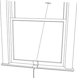 Find a suitable window in your home