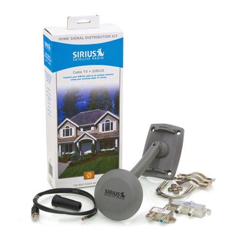 Shop SiriusXM - Home Signal Distribution Kit - Cable TV + SIRIUS - ONE_SIZE-IMAGE01