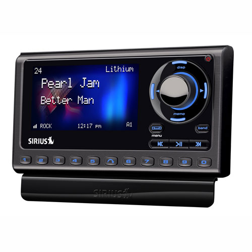 sportster 5 dock & play radio with vehicle kit