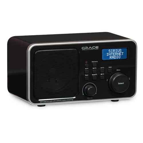 Shop SiriusXM - Grace Wireless Internet Radio - ONE_SIZE-IMAGE01