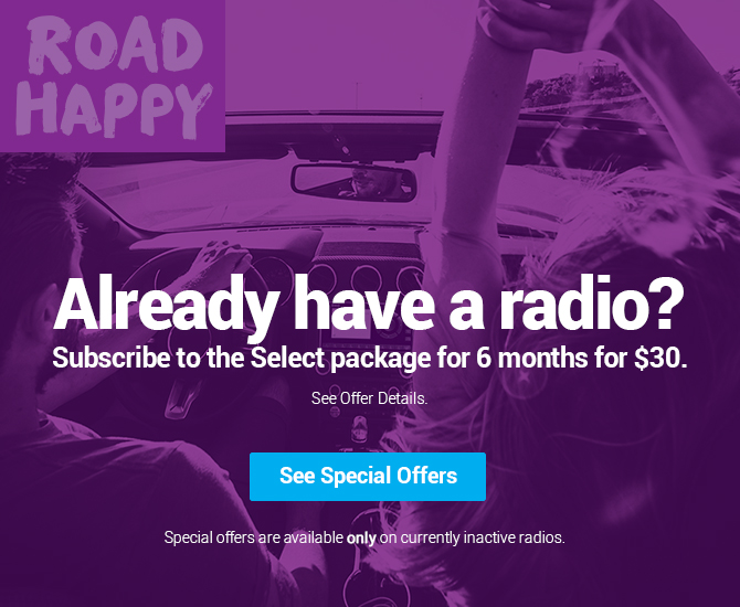 Already Have a Radio? Activate it with a special offer