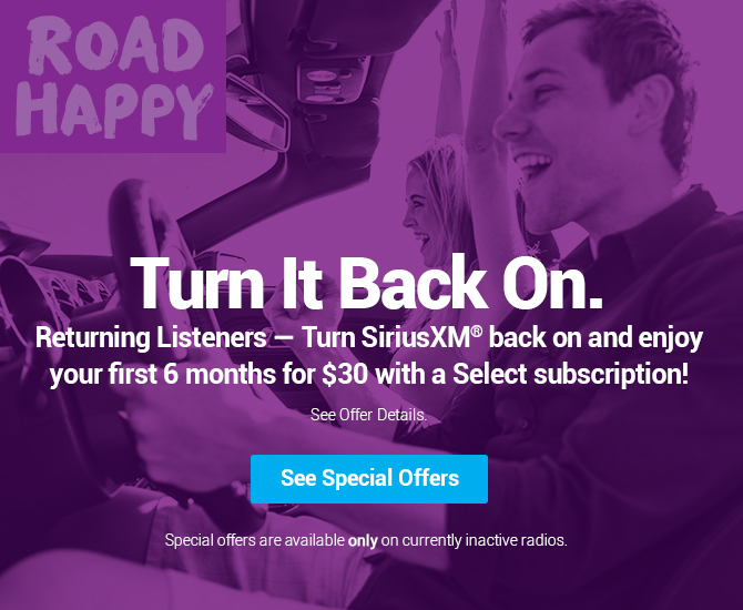 Turn your radio back on with a special offer today