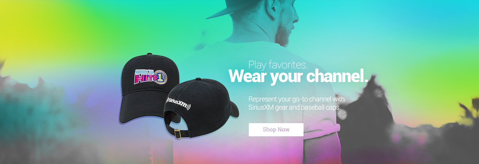 SiriusXM Baseball Caps Shop Now