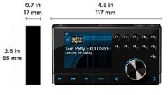 Edge Radio Size and Dimensions Image