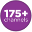 175+ Channels