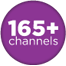 165+ Channels