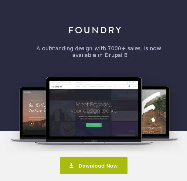 foundry drupal theme