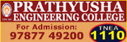 prathyusha Engineering College Admission Enquiry
