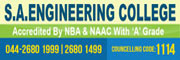 S.A. Engineering College Admission Enquiry