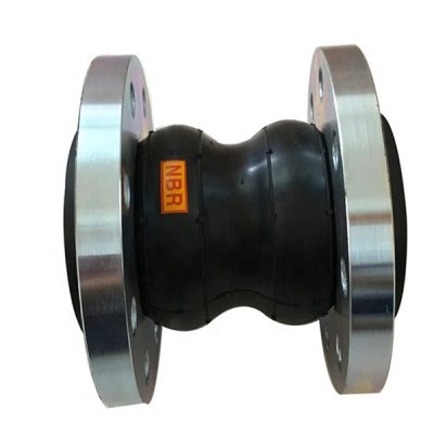 double rubber expansion joint