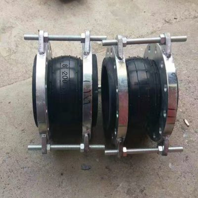 Rubber Expansion joint with tie rod
