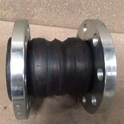 EPDM double sphere rubber expansion joint