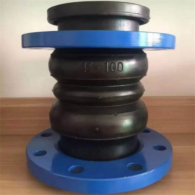 NBR twin sphere rubber expansion joint