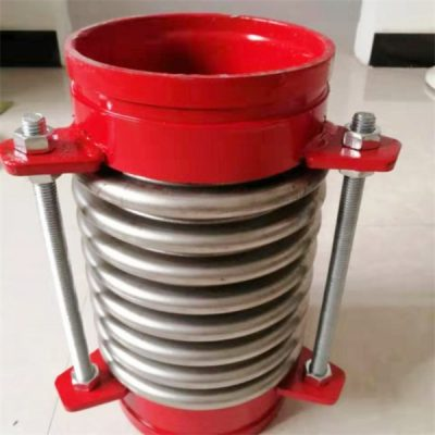Groove type bellow expansion joint