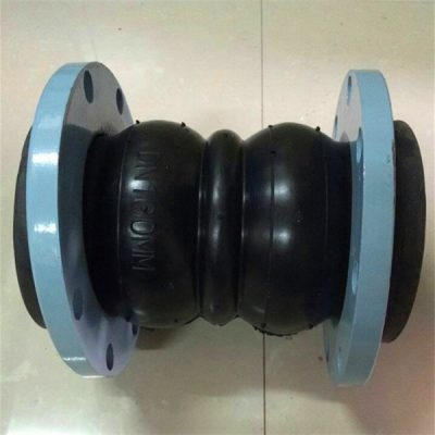 Carbon steel flange double sphere rubber joint