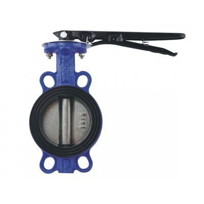 Multi-standard wafer butterfly valve