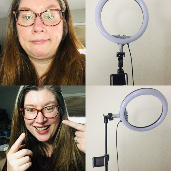 How to Get Rid of Pesky Ring Light Reflection in Your Glasses!