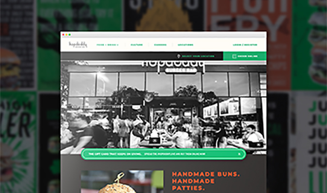 Hopdoddy Responsive Mobile and Web Experience