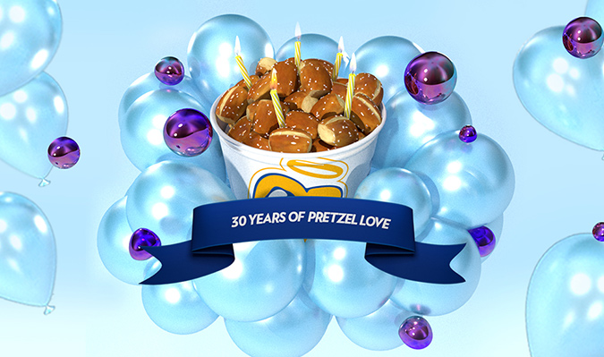 Taking Auntie Anne's 30th Birthday to a Whole New Dimension
