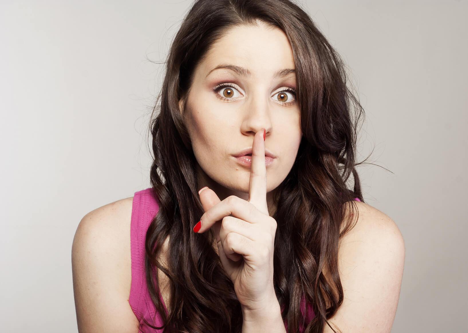Shh...