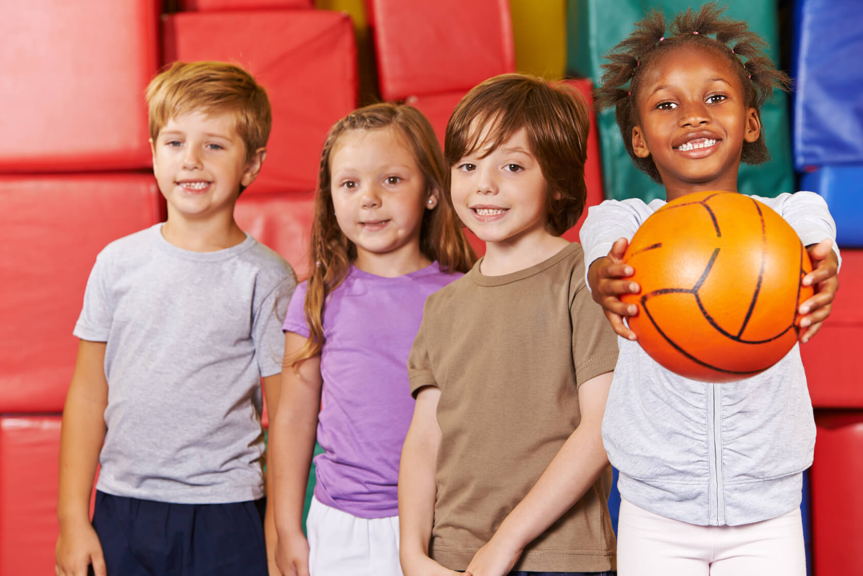 Children playing ball games | The TEFL Academy - Stirrers and Settlers for Young Learners