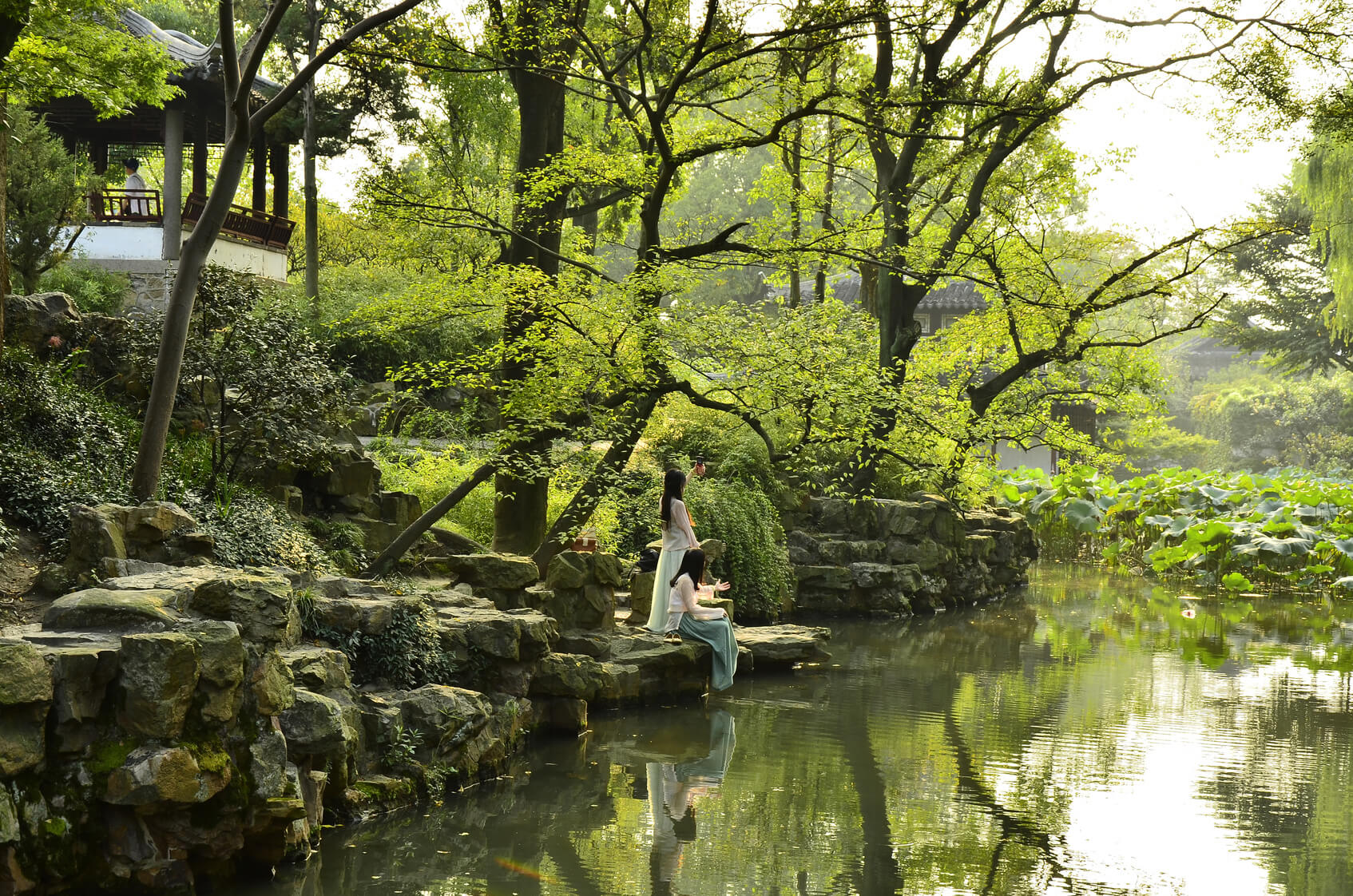 The scenery of Humble Administrator's Garden at Suzhou, China. | The TEFL Academy - Teaching English in China