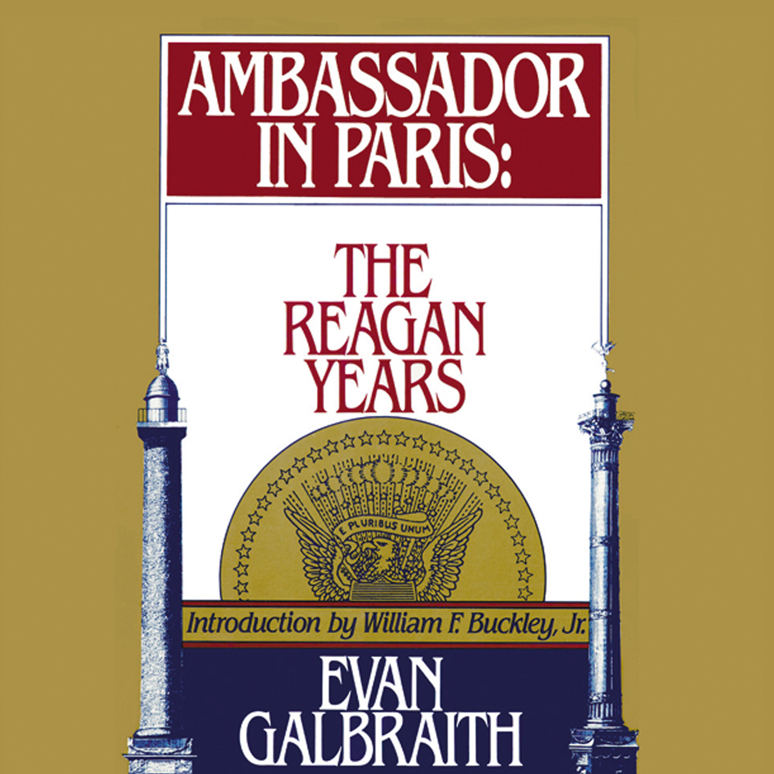 Printable Ambassador in Paris: The Reagan Years Audiobook Cover Art