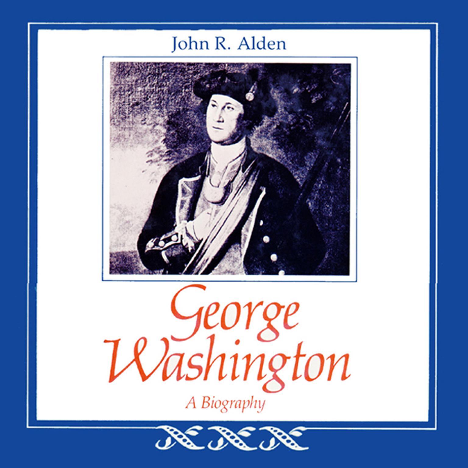 Printable George Washington: A Biography Audiobook Cover Art