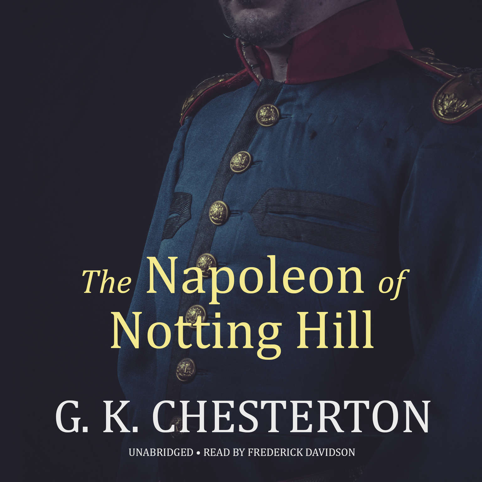 Printable The Napoleon of Notting Hill Audiobook Cover Art
