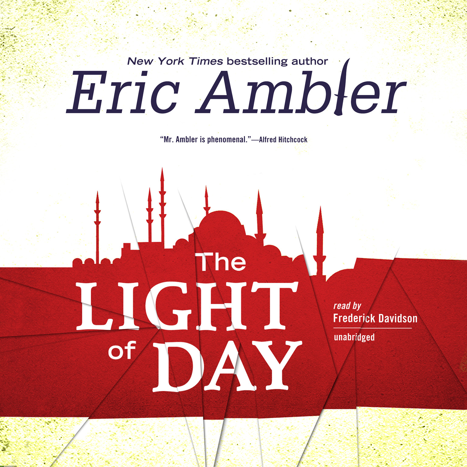 Printable The Light of Day Audiobook Cover Art